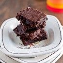 Healthy Green Kitchen Amanda's Skillet Brownies (Gluten-Free)