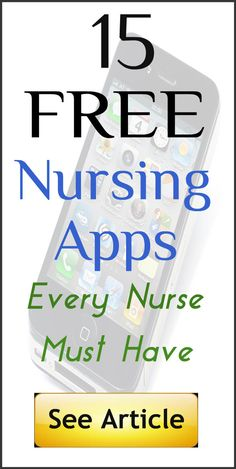 Here are 15 totally free nursing apps that every nurse must use: http://www.nursebuff.com/2014/05/free-nursing-apps/