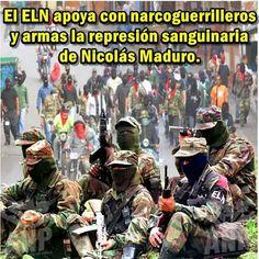 Atencion #Venezuela  muchos guerrilleros de las Farc y el ELN ahora son Tupamaros.. pic.twitter.com/9ZqnUmnEEt