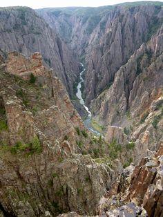 gunnison national park   ... top) Overlook, Black Canyon of the Gunnison National Park, Colorado