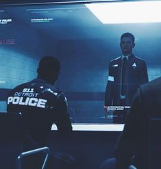 Detroit: Become Human, Connor in the interrogation room What Is English, Detroit Game, Night In The Wood, Becoming Human, Detroit Become Human, Life Is Strange, Father And Son, Positive Attitude, Low Key