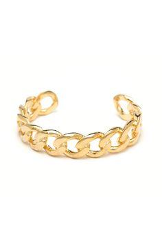 Ettika Chain Link Cuff : CHATOaccess #chatoaccess #ettika #jewelry #bracelet