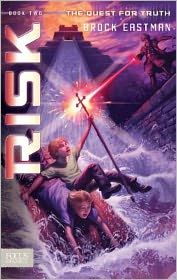 """Risk""--an exciting futuristic adventure story for teens and tweens.  Book Review and Giveaway of 3 copies of ""Risk"" by Brock Eastman at I Choose Joy!"