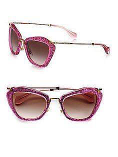 ea4d7934778a 30 Delightful Miu miu glitter sunglasses images