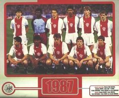 Amsterdamsche Football Club Ajax, 1987.