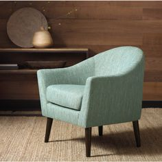 Grayson Teal Accent Chair - Overstock™ Shopping - Great Deals on Living Room Chairs