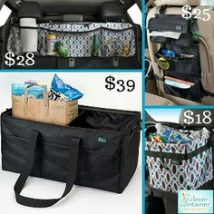 Is your vehicle ready for football season? Keep your tailgating gear organized with Clever Container's stylish and affordable car products.  The Cargo Pockets, Backseat Entertainment, Cargo CarryAll, and No-Leak Litterbag are a must for pregame festivities.  Purchase all four products for $85 plus tax and shipping.  That's a $25 savings! Offer not available on my website so send me a message to take advantage of this special offer. www.mycleverbiz.com/lpulverenti