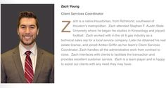 Meet The Team: Zach Young- Client Services Coordinator.     #houston #real estate #realtor #Zach Young #bringing the fashion #except not the matrix #and he's straight #sorry GBFs #ladies man #top Houston realtor #go team #griffin realty & associates #coldwell banker united