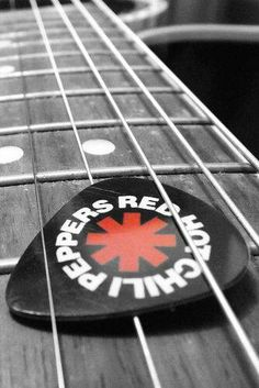 RHCP Guitar Pick