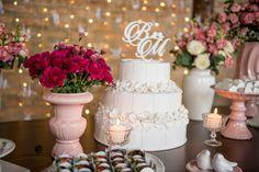 Decoração mesa do bolo <3