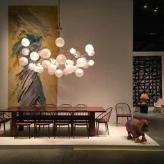 Design Miami Basel installation featuring Jeff Zimmerman via evansnyderman