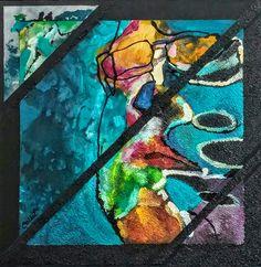 """Acrylic on wood panel/Acrylique sur panneau de bois - 24"""" X 24""""/61 x 61 cm Panel, Acrylic Paintings, Art, Art Background, Kunst, Performing Arts, Art Education Resources, Artworks"""