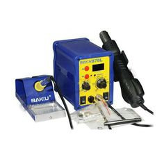 47.10$  Buy here - http://alitdi.worldwells.pw/go.php?t=32730240333 - 1pc BAKU BK-878L2 led digital Display SMD Brushless Hot Air Rework Station + Soldering Iron and Heat Gun for Cell Phone Repair 47.10$