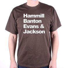 A tribute to Van Der Graaf Generator T Shirt Hammill Banton Evans & Jackson Names