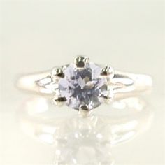 Tsutsumi December Birth Stone White Gold Tanzanite Baby Ring