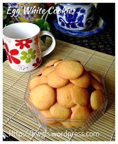 EGG WHITE CRISPY BISCUIT (VANILLA WAFERS) #kenneth_goh  #guaishushu  #egg_white_crispy_biscuit   #蛋白脆饼