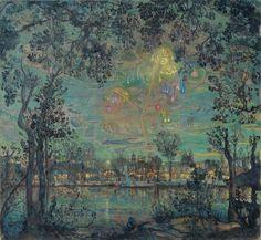 Fireworks - Isaac Brodskiy  1912