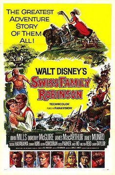 Los robinsones de los mares del Sur (1960) HDTV   clasicofilm / cine online