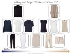 How to build a capsule wardrobe with non-patterned clothing items (patterns are in the accesories)
