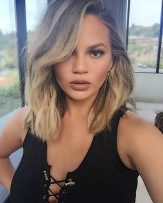 Pin for Later: The Hottest Celebrity Selfies of 2016 — So Far! Chrissy Teigen