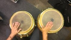 Paradiddle-diddle Fill for Congas
