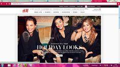 H&M Sterktes > Je ziet gelijk de actuele campagne van de H&M, handige navigatie wat je wilt zoeken. Zwaktes > Meer gericht op vrouwen, terwijl ook mannen de website bezoeken.