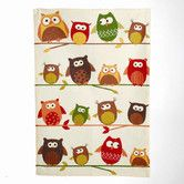Found it at AllModern - Owl Perched Owls Printed Dishtowel