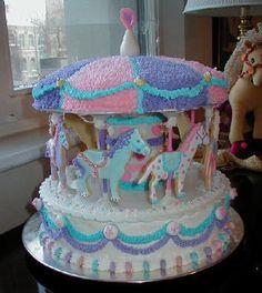 carousel birthday  cakes for boys | carousel birthday cake cakes for little kids birthday parties gallery ...