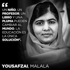 citas español malala yousafzai - Buscar con Google