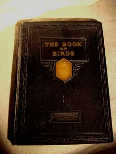 """""""THE BOOK OF BIRDS - Old Natural History Book, c. 1927"""" -- Hell yeah history and nature/birds!"""