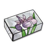Free Pattern, Japanese Iris Box