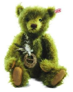 Steiff Jules the Jungle Bear EAN 034947 from www.sunny-bears.com
