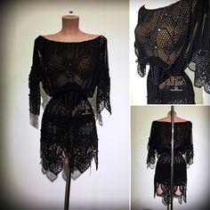 #abrahammartinez #newdress #latin #black #transparent #jet #swarovski #designer #forsale FOR SALE!!