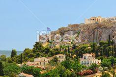 The Athens Acropolis Royalty Free Stock Photo