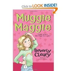 Muggie Maggie is a favorite Literature Circle book or read aloud with many teachers. Visit this page to read a recommendation for this book and find other realistic fiction books for Literature Circles. Literature Circles, Children's Literature, Good Books, Books To Read, Learning Cursive, Beverly Cleary, Realistic Fiction, Readers Workshop, Beginning Of School