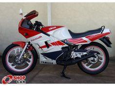 RD 350 Vermelha/Branca 1991 - YAMAHA - Campo Grande 631363 | SHOPCAR