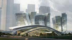 Hong Kong to Beijing, the Express Rail Link West Kowloon Terminus