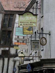 Diagon Alley Signs