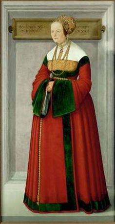 A Lady at 31 years of age, 1525(attributed to Christopher Amberger) (ca. 1500/1505-1562) Kunsthistorisches Museum, Wien GG_888
