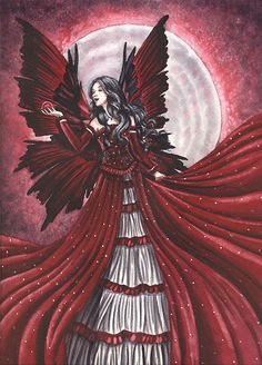 Angel / Fairy in Red to match your tree. Wish you were here. angels and fairies images | Angels And Fairies 0075