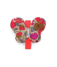 #Liberty of London butterfly #hairclip with #alligator clip