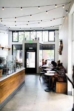 99 Awesome Small Coffee Shop Interior Design (19)