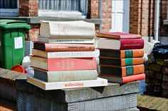 Books - one man's trash is another man's treasure - Photography Marleen Hallaert