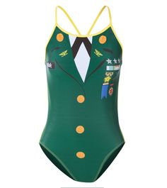 when its time to get into a serious training regiment this is the suit for - Halloween Swimsuit
