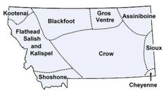 Native American tribes of Montana, with maps, reservation addresses, classroom activities and recommended history books. Indian Tribes, Native American Tribes, Native American History, Sioux, Cherokee, Navajo, Thats The Way, First Nations, Montana