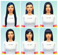 I love these :) 1 / 2 / 3 / 4 / 5 / 6 ♡ ♡ Sims 4 Cc Packs, Sims 4 Mm Cc, Sims Four, Maxis, Cc Top, Sims Stories, The Sims 4 Cabelos, Sims 4 Dresses, Sims 4 Characters