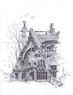fairy house by Shawn Fisher