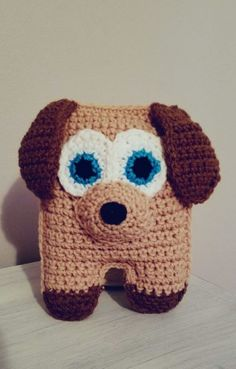 Hello Lovies!  I made this little pup for one of my favorite babies over the holidays. She loves puppies.  This pup is easily adaptable by changing up the colors and increasing or decreasing the ear length.  I hope