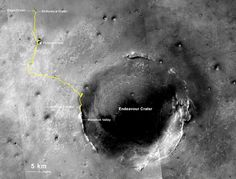 NASA's Mars Exploration Rover Opportunity Sets Off-World Driving Record. Image Credit: NASA/JPL-Caltech/MSSS/NMMNHS