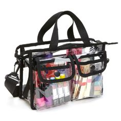 Professional PVC Makeup Artist Set Bag w/ Shoulder Strap, only $19.95 to carry dance makeup